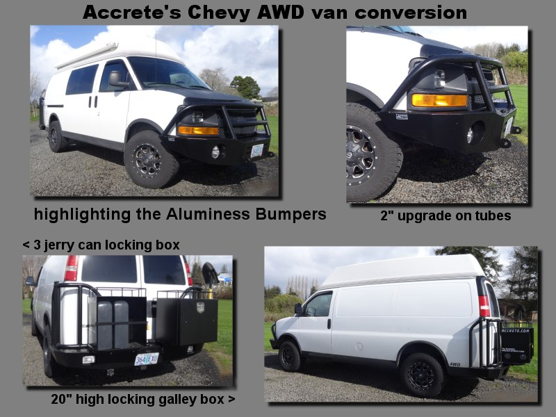 aluminess bumper details