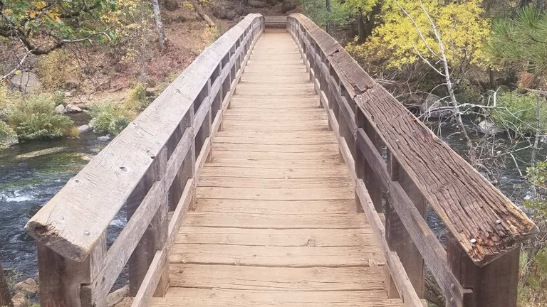 burne falls bridge