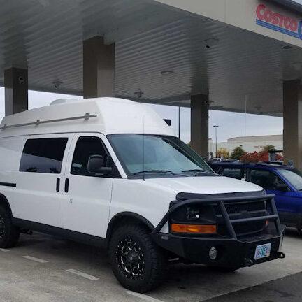 vans at 1049 gas