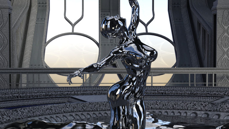 3D image created in Daz Studio