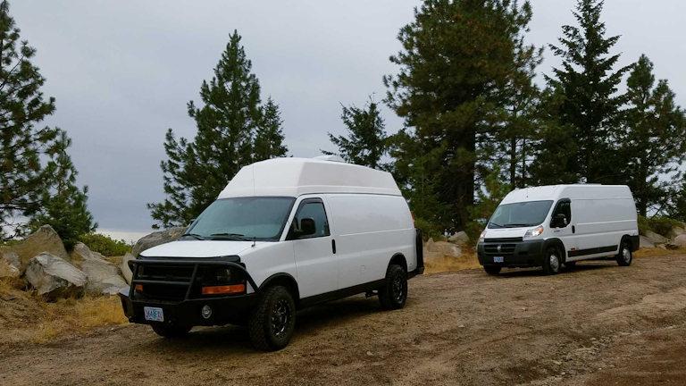 two vans ashland road