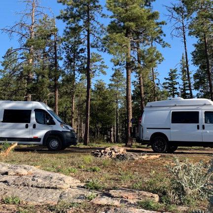 two vans mogollon rim