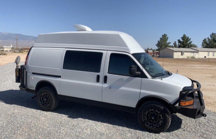 Chevy AWD Express Van